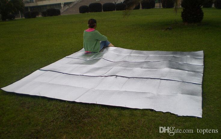 300x300CM Outdoor Waterproof Picnic Pad Cushion Mat ForSleep Hiking Camping Tent Car shade insulation board