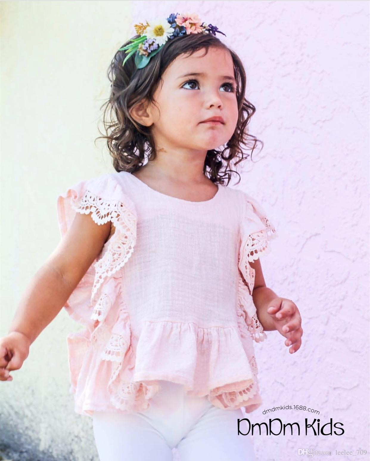 line Cheap Ins Hot Beautiful Baby Girl Toddler Children Wear Lotus