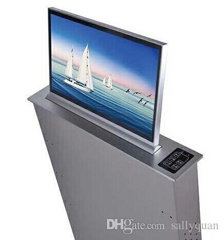 17-24 بوصة LCD رفع رصد الكمبيوتر الخفية لنظام المؤتمرات مع مآخذ الميكروفون وشاشة بالجملة