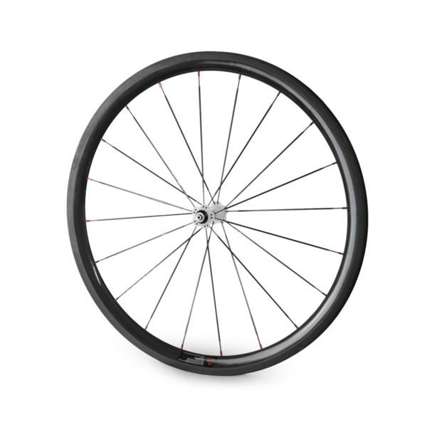 700C 23mm wide Road Bike Carbon 38mm Tubular Wheelset road bicycle wheels wholesale china factory
