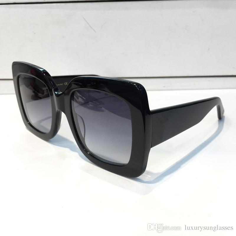 0083 Scarpe firmate da sole popolari Stile Quadrato estate Full frame superiore UV Protection 0083S occhiali da sole colore misto prossimo con la scatola