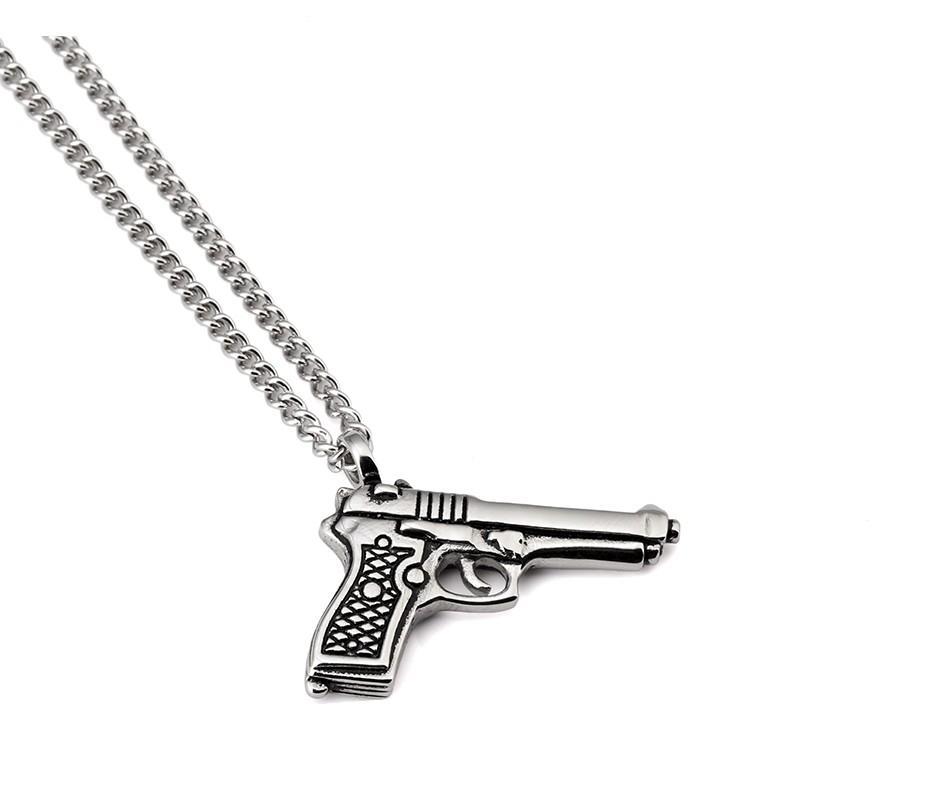 Gun Pendant Necklace_12