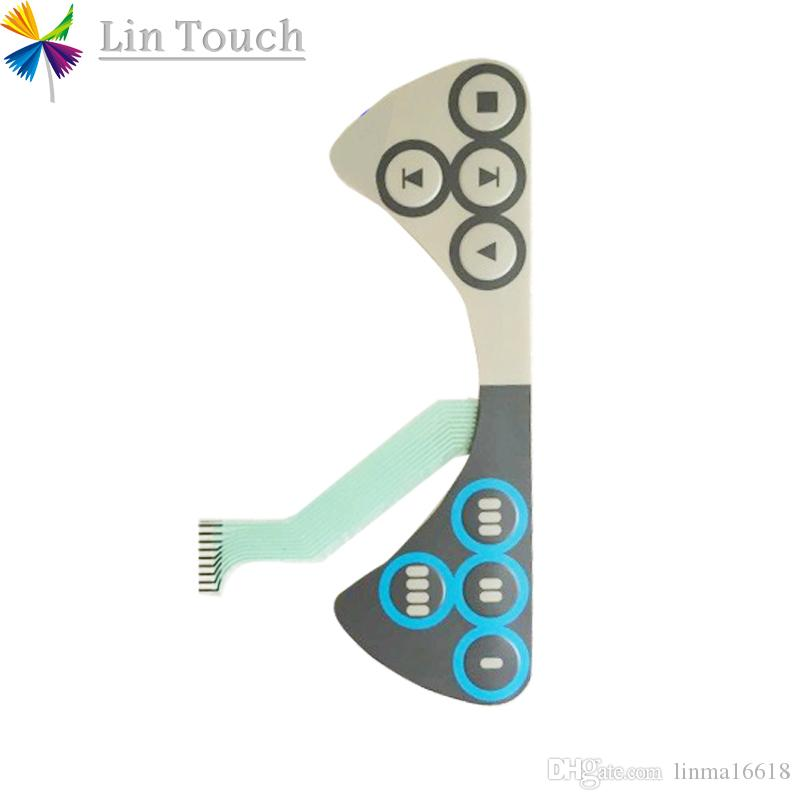 Новая клавиатура кнопочной панели переключателя мембраны ПЛК 3ХАК023195-001 ХМИ используемая для того чтобы отремонтировать машину с кнопочной панелью