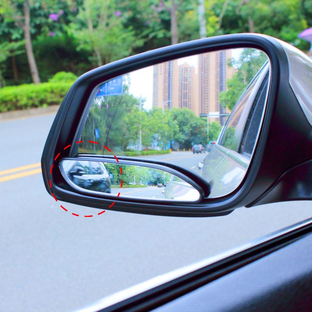 Par de espejo de coche de diseño largo para lado ciego para seguridad de tráfico Vide espejo retrovisor