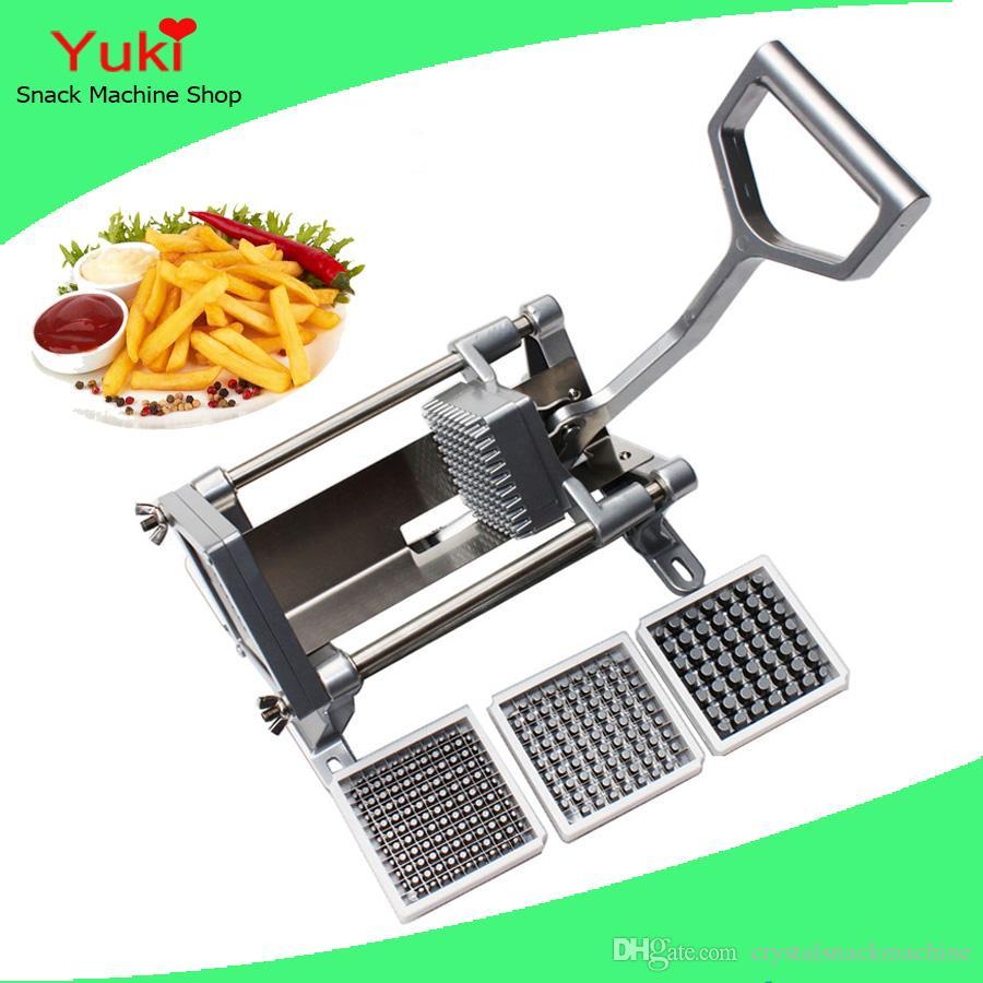 Macchina di taglio della taglierina di verdure della taglierina della patata della patata fritta delle patate fritte della taglierina di patate manuale popolare