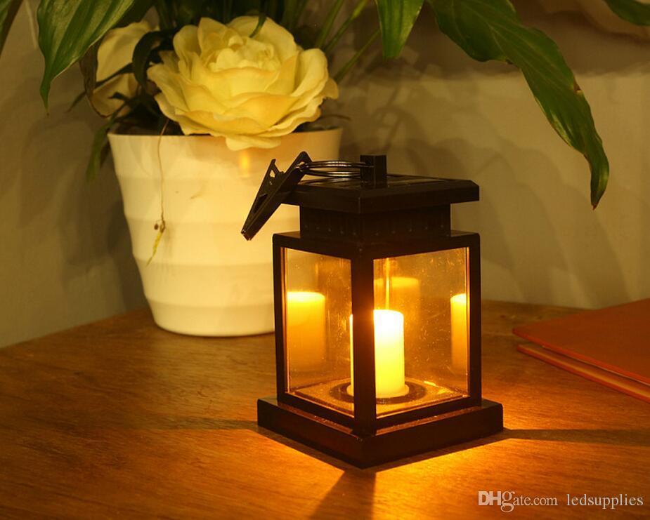 ВС лампы сад пейзаж зажигает напольные декоративное освещение водить сад солнечных свечи зажигают наружное освещение дома настольной лампы свисающего 2PCS