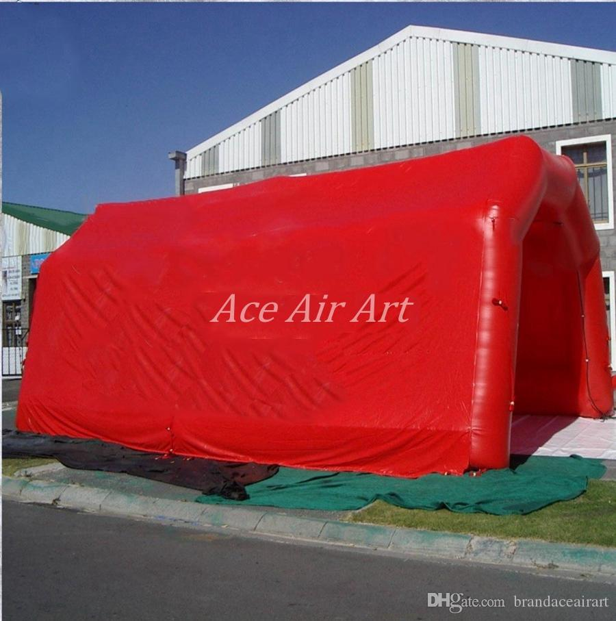 Customizable Misting inflatable tunnel Tent,car cover shelter, Emergency Responder Shelter sport game tunnel marquee