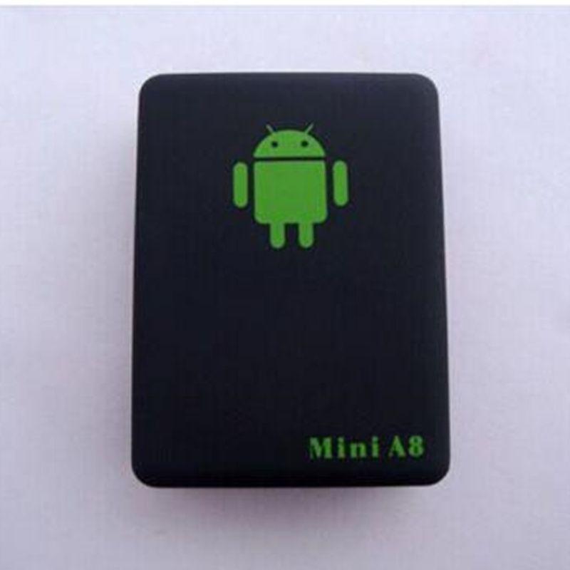 Мини-глобальный A8 GSM/GPRS / GPS трекер локатор в режиме реального времени автомобиль дети отслеживания USB-кабель с хорошей розничной коробке