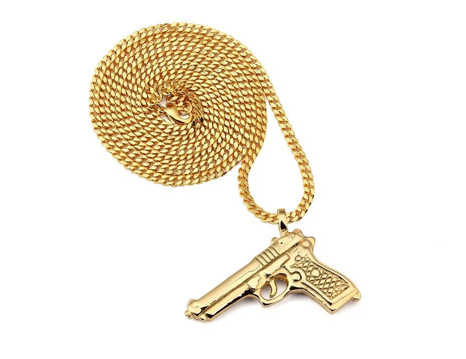 Gun Pendant Necklace_05