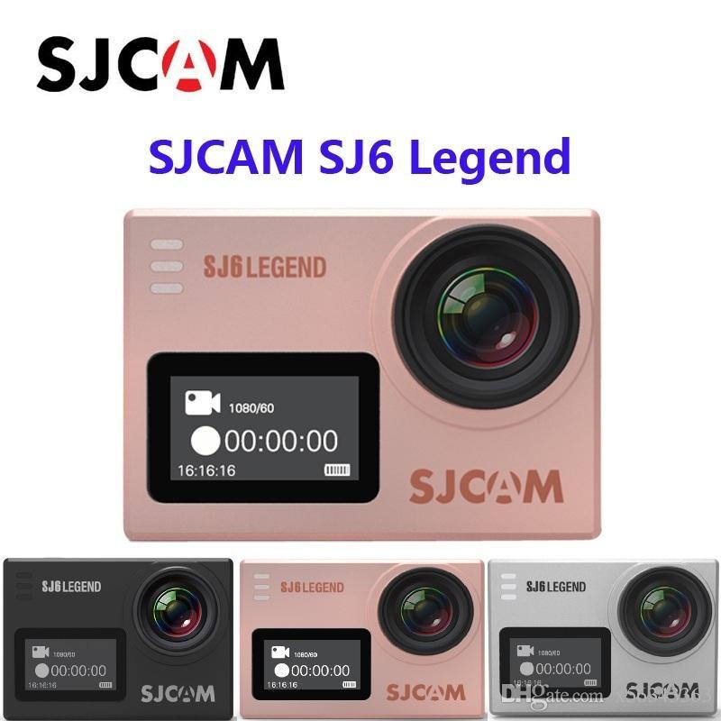 جديد SJCAM SJ6 LEGEND واي فاي 4K 24fps الشاشة المزدوجة الترا HD كاميرا Notavek 96660 شرائح كاميرا العمل للماء