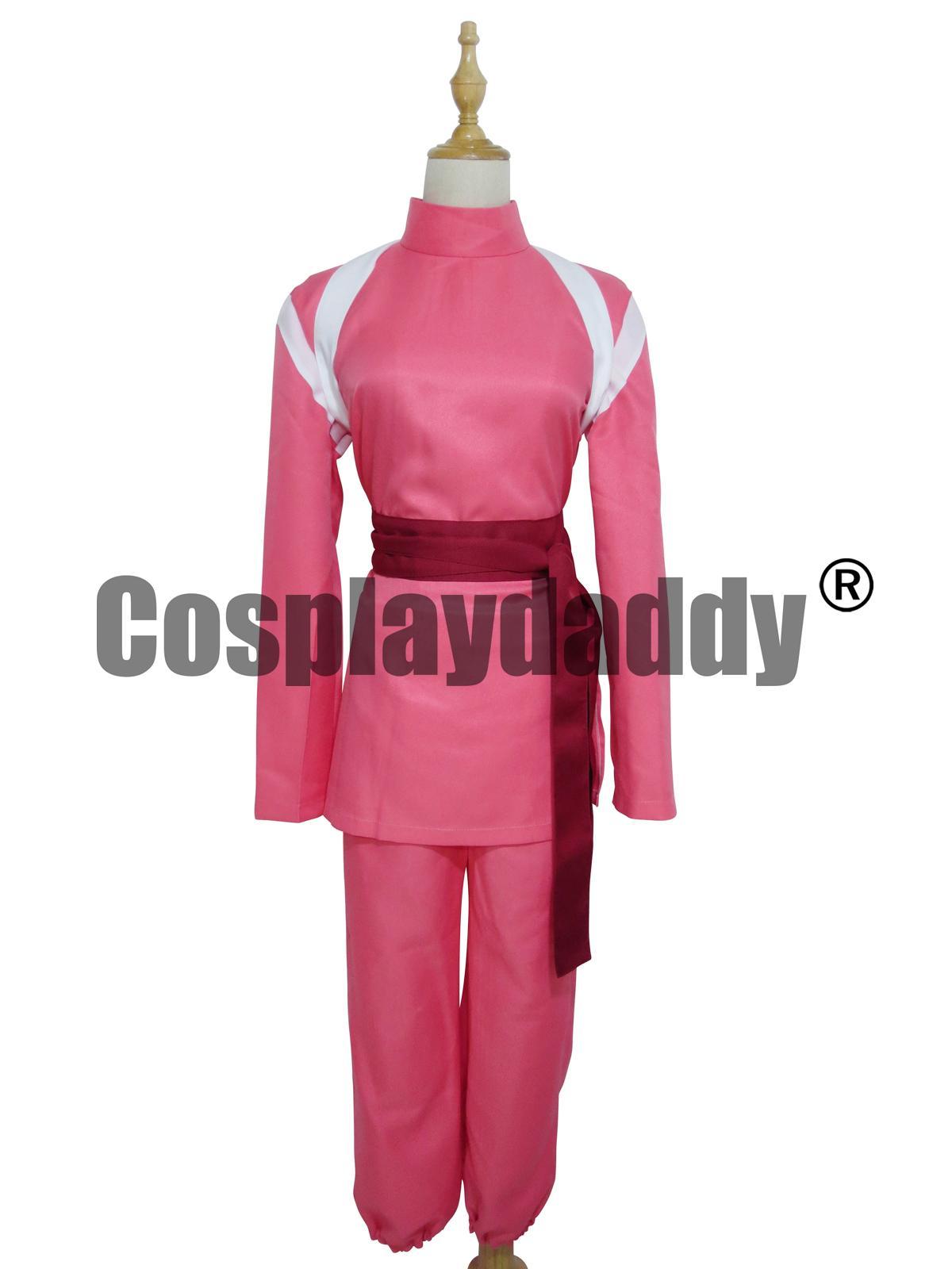 Miyazaki Hayao Spirited Away Chihiro Ogino Sen Cosplay Costume Cosplay Suit Cosplay Shopping From Lisacosplay 60 92 Dhgate Com