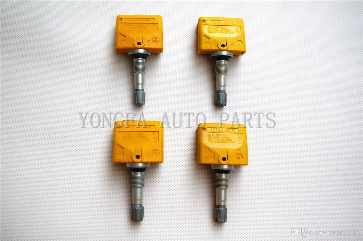 Set of 4 For Nissan Infiniti TIRE PRESSURE SENSOR TPMS TPM OEM 40700-JA01B SET-TS11