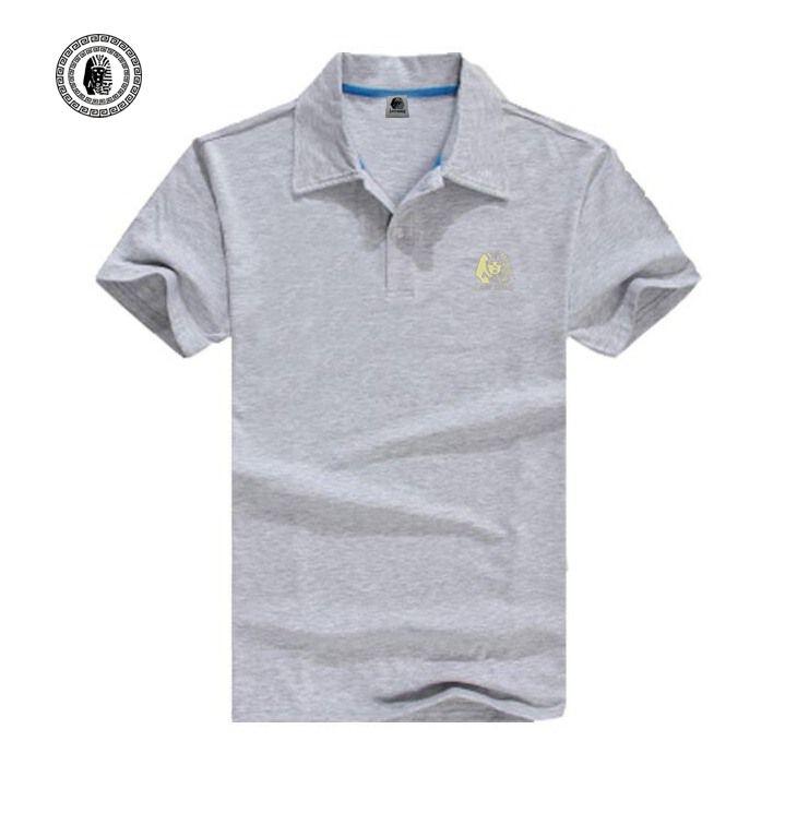 S3625 Moda Última Reis mens skates hip hop polo camisa sólida polo de algodão de manga curta de alta qualidade