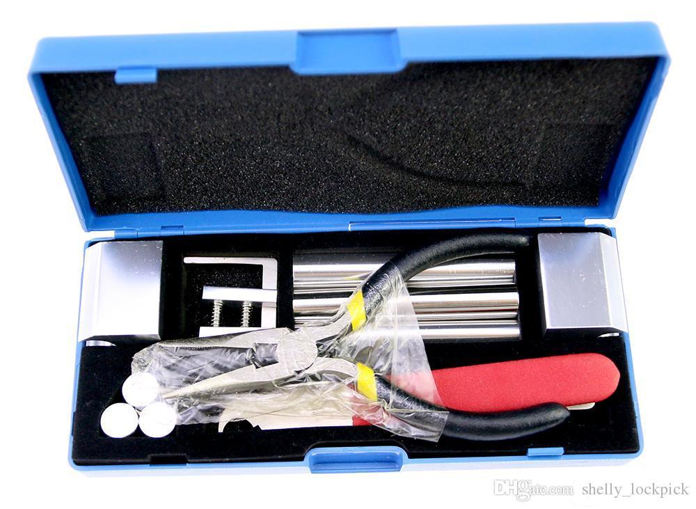 Ücretsiz Kargo Profesyonel 12 1 HUK Kilit Sökülmesi Aracı Çilingir Araçları Kiti Kilit Kaldır Tamir Kaldır Set