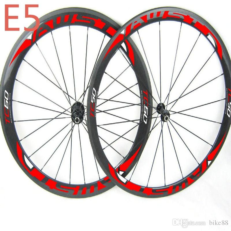 Top quality T800 700C bicycle carbon wheels WAST road bike wheels 50mm+60mm full carbon bicycle wheels ceramic bearing free shipping