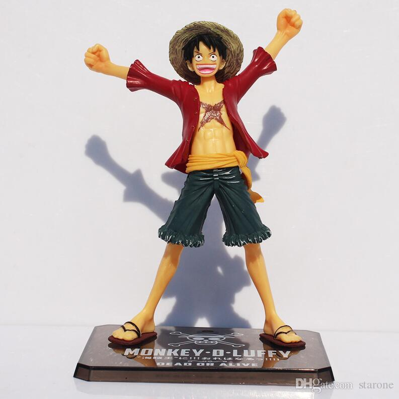 Japaness Anime Cosplay One Piece Monkey Luffy Action Figures Model Collection 15cm Two Years Later Kids With Box Free Shipping