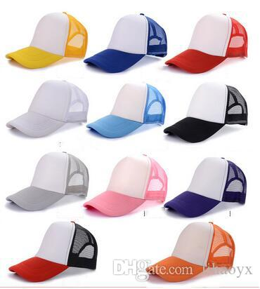 Hot sale Cheap prices adult children's base wholesale custom web cap LOGO print advertising snapback baseball candy color cotton hat M060