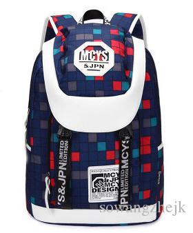 Grande capacité sac à dos femmes hommes loisirs sports wear sac à dos imperméable couleur sac à fermeture éclair