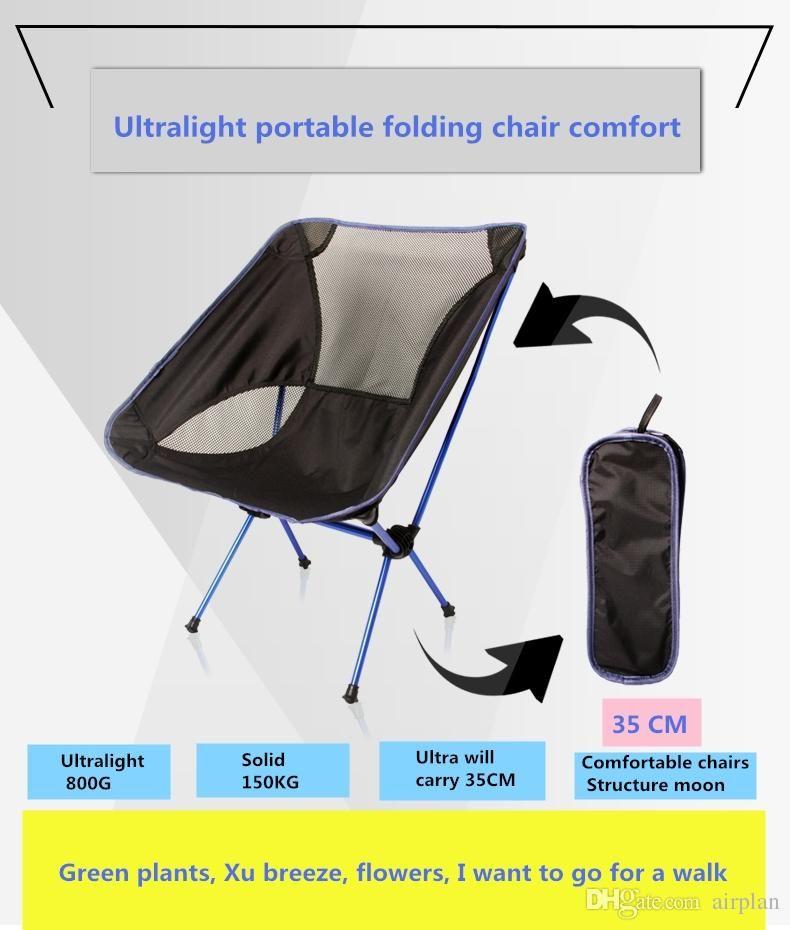 Новое прибытие ультра-легкие портативные складные стулья на открытом воздухе 'кемпинг поставки обратно подкрепление' единой сети структура случайный canv