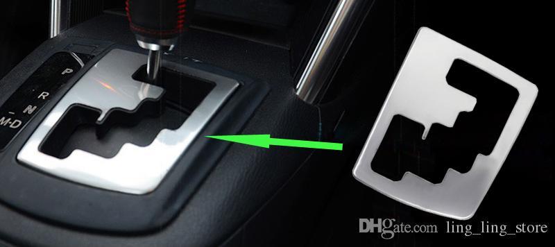 Chrom Auto Gear Runde Abdeckung Trim interne Dekoration Trim für MAZDA CX-5 CX5 AT 2012 2013 Gear Panel 1PC