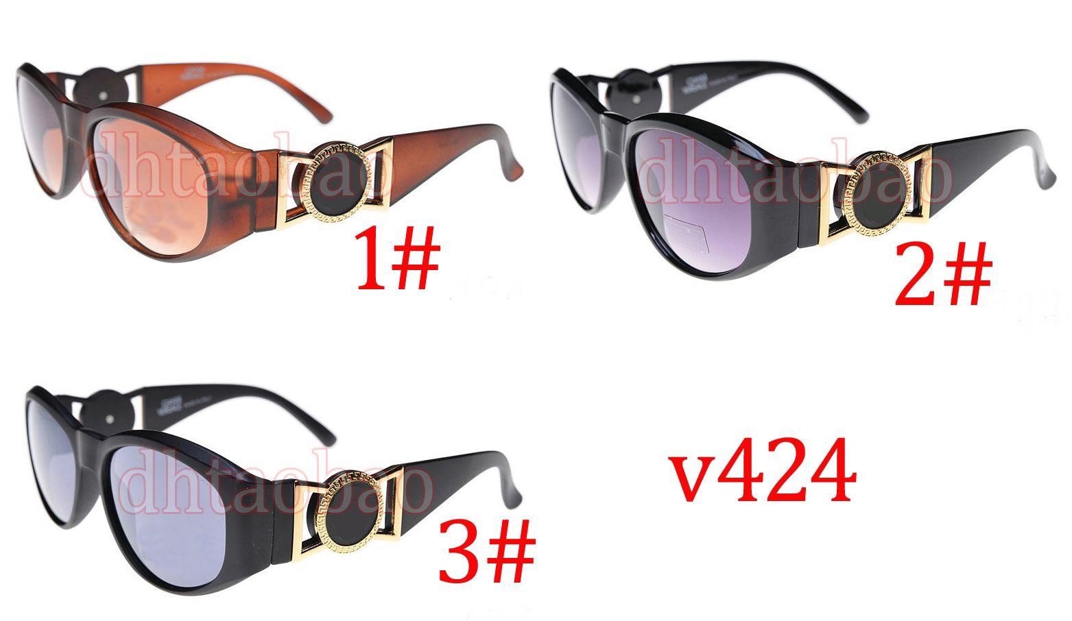 Moq=10pcs Unisex Sun Glasses Fashion Sunglasses Vintage Frog Glasses Black Wide Frames Over sized Lens Frame Eye wear 3 Colors Shipping