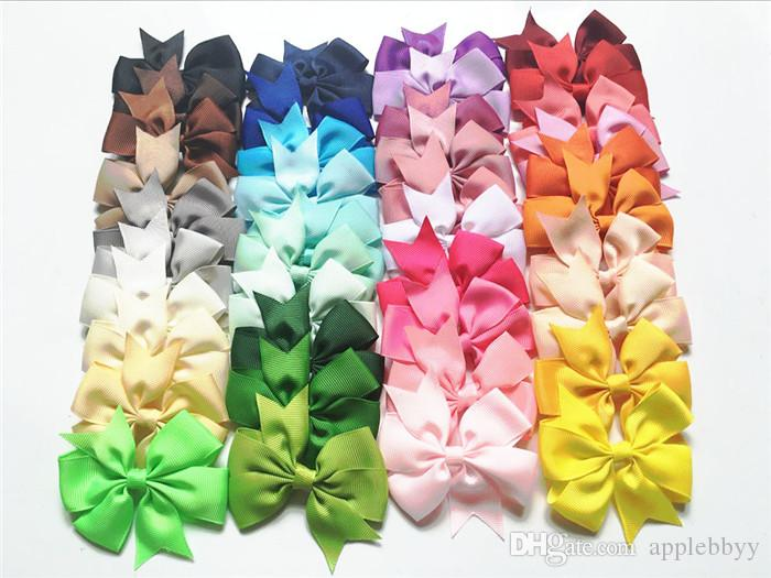 high quality grosgrain ribbon bows for hair bows,baby hairbows girl bow WITH CLIP free shipping