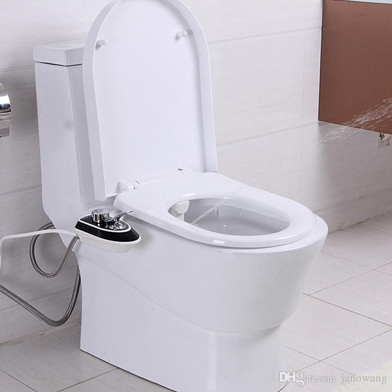 Fabulous 2019 No Electricity Bidet Shower Female Private Parts Smart Toilet Seat Bidet Buttocks Ass Abs Flusher J16661 From Janowang 68 9 Dhgate Com Pabps2019 Chair Design Images Pabps2019Com
