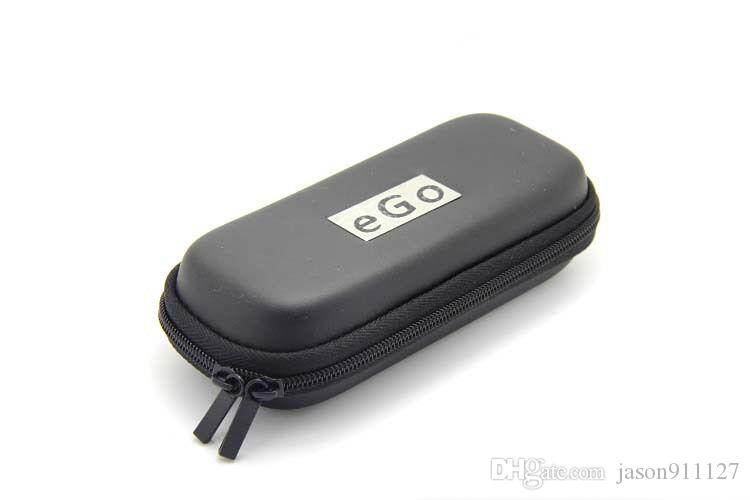 eGo Zipper Case Bag small Size and large Size with Ego Logo Sticker for Electronic Cigarette E Cigarette E-cig Kits Various Colors in stock