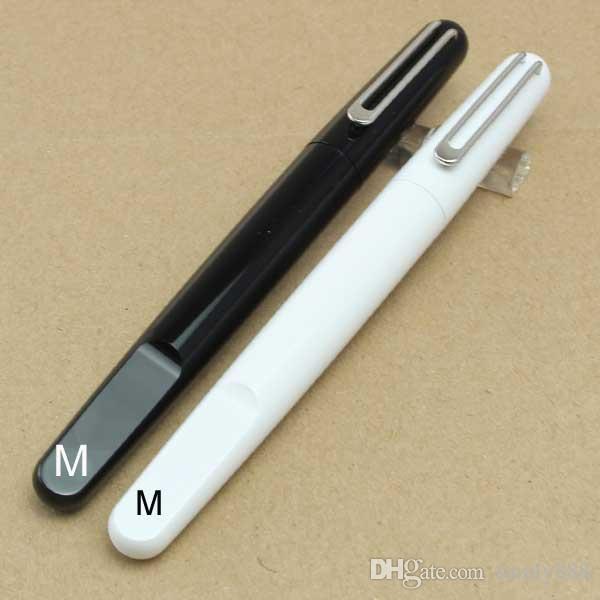 Edição limitada Magnética tampa de fechamento Mon Preto / branco / azul roller ball Caneta de luxo Caneta com recarga sem tampa Quente