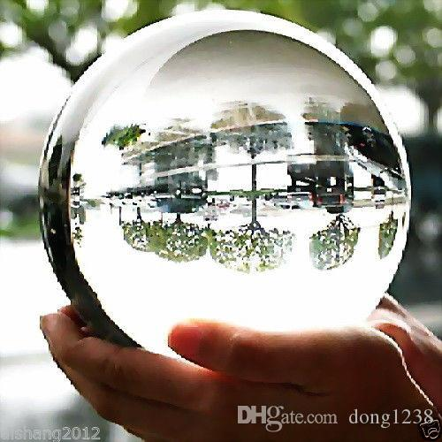 매우 아름다운 ASIAN QUARTZ Clear Crystal Ball Sphere 100mm + 받침대
