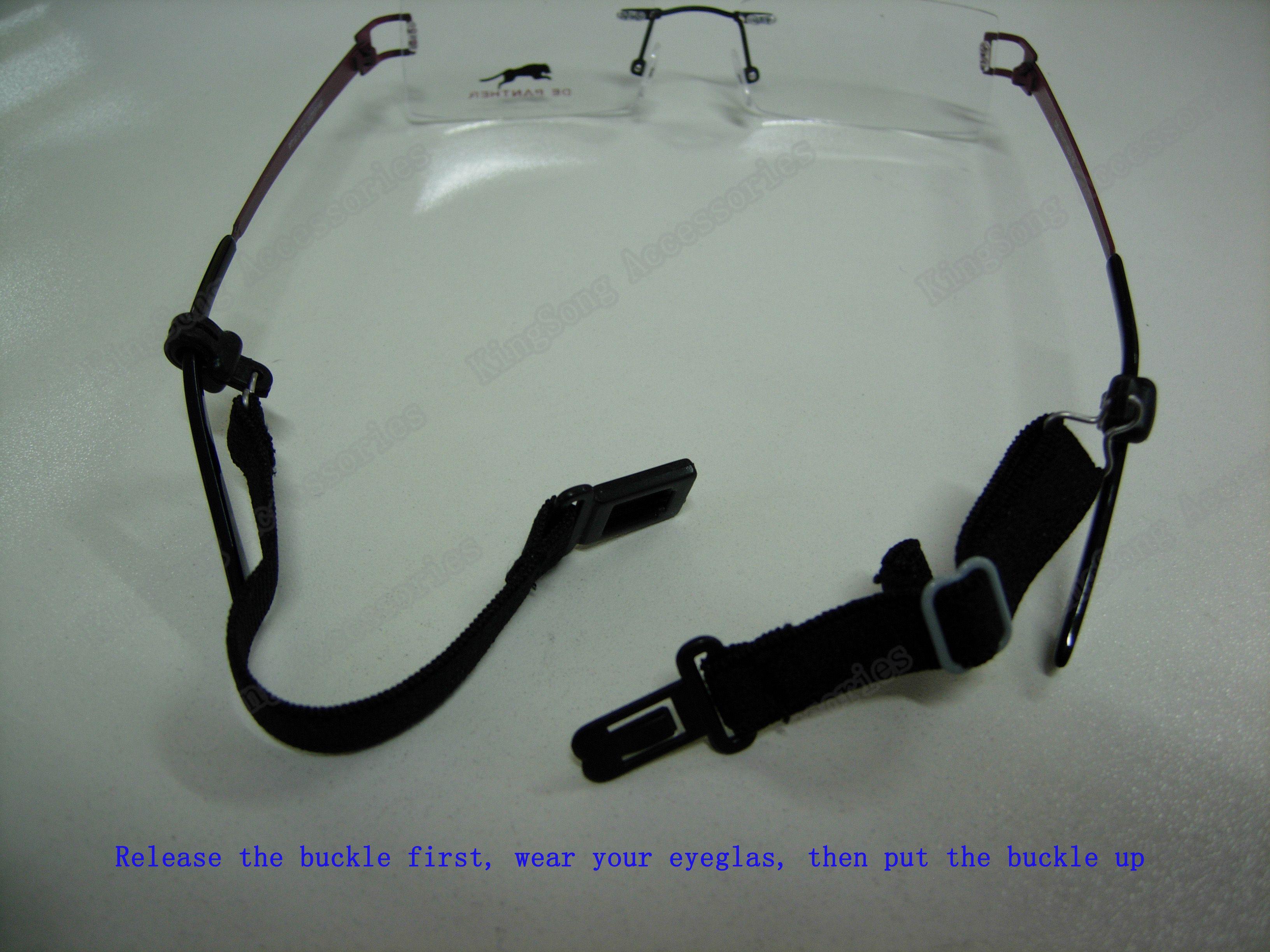 Romote Set di 6 occhiali da sole Occhiali sportivi Occhiali cordicella LanyardTubeChain Occhiali corda Occhiali Accessori