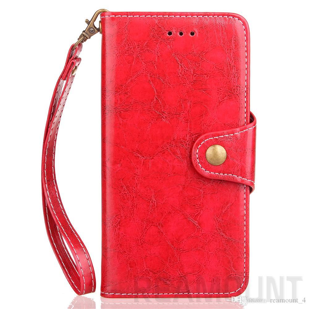 Großhandel neue Art und Weise Schlag-Leder-Abdeckung für iPhone 6 weichen PU-Leder und TPU-Mappen-Telefon-Kasten für iPhone 7 7 plus
