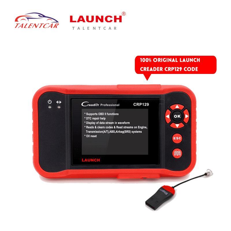 NEW 100% Original Launch X431 CRP129 Launch Creader CRP129 ABS Oil Reset Professional OBDII EOBD Auto Code Reader Scanner CRP129