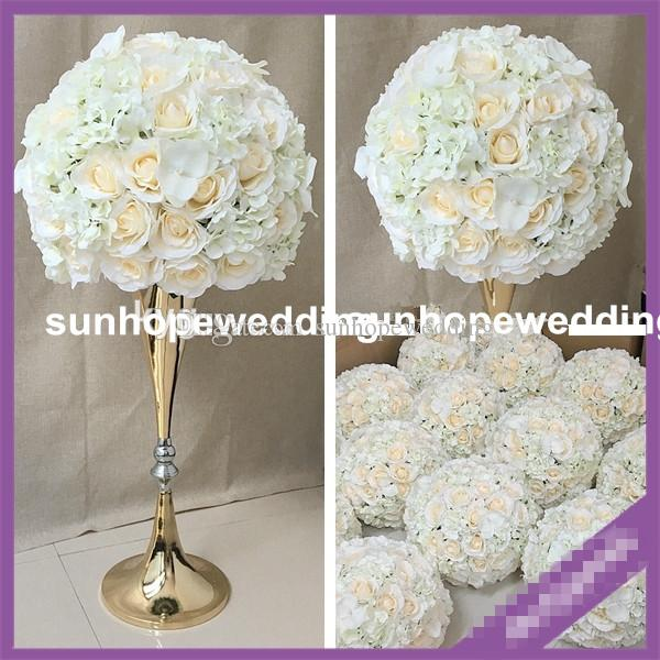 wedding party decoration mental flower walkway stand