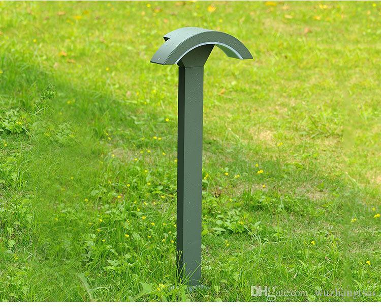 110 V 120V 220V 230V 240V Wasserdichte Garten LED Rasenlampe Rod Grasland Licht Moderne Landschaft Post Park