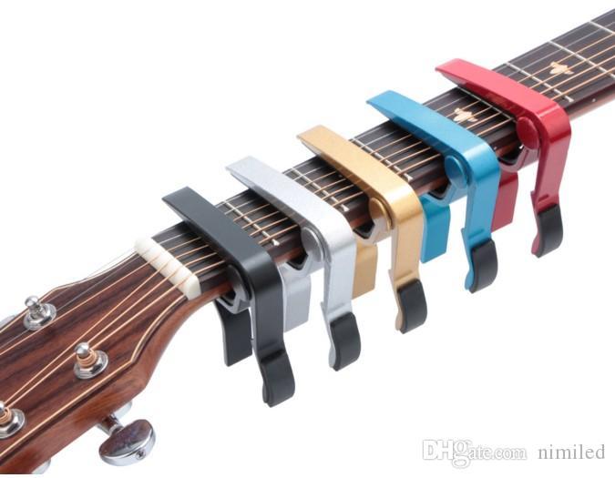 Nuovo arrivato chitarra acustica classica elettrica Guitarra Capo traste strumenti musicali della chitarra Capo Accessori LLFA