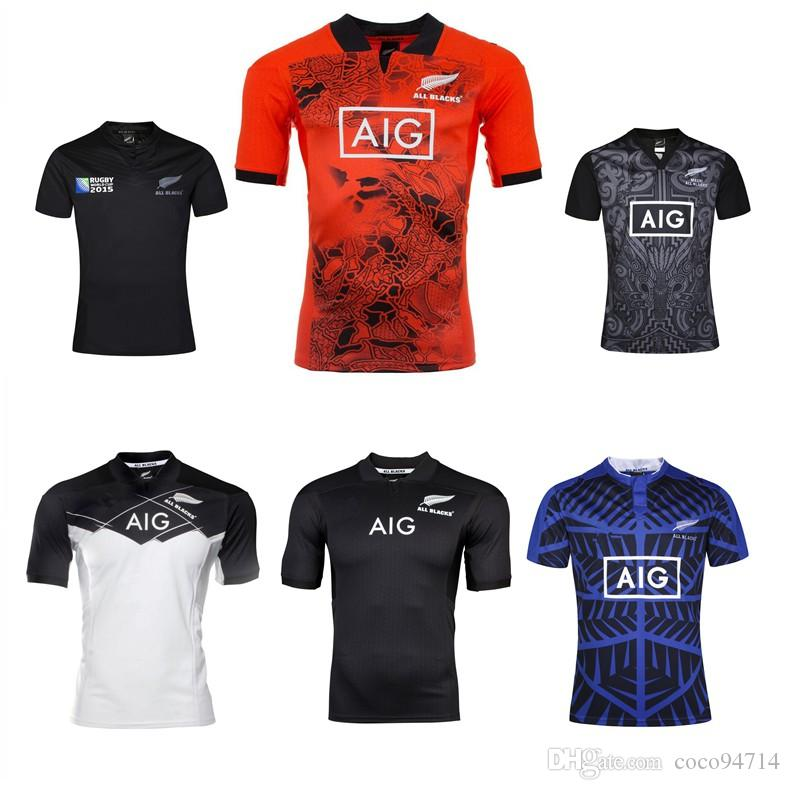 New Zealand All Blacks 2017 rugby jersey shirt S-3XL