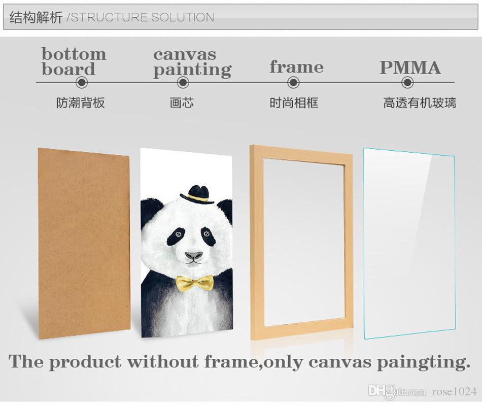 How To Hang Canvas Without Frame. Easiest Way To Hang Canvas Prints ...
