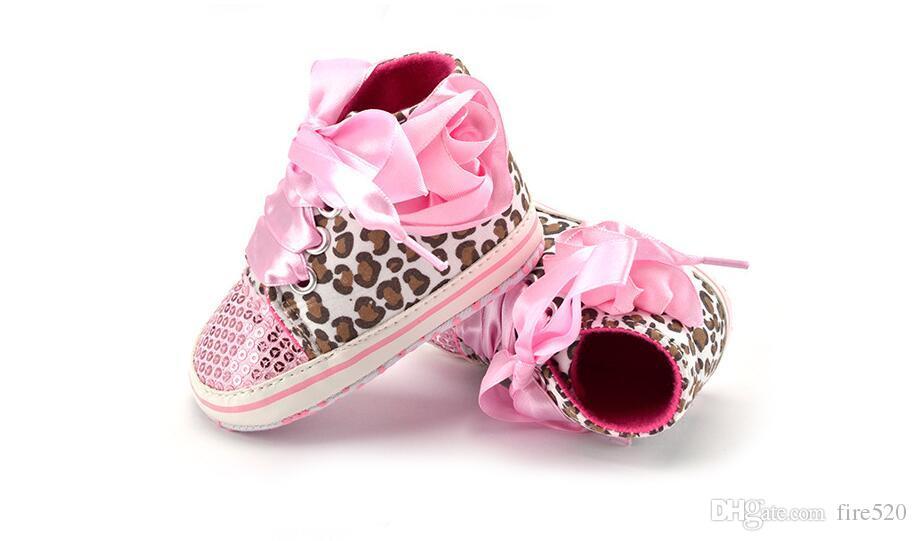 Großhandel Die Explosion Der Babyschuhe Leopard Sequin Baby Beschuht ...