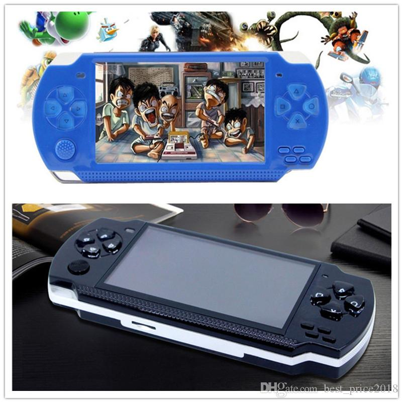 PMP 8GB handheld Game Console 4.3 inch screen mp4 player MP5 game player real 8GB support for psp game,camera,video,e-book NEW