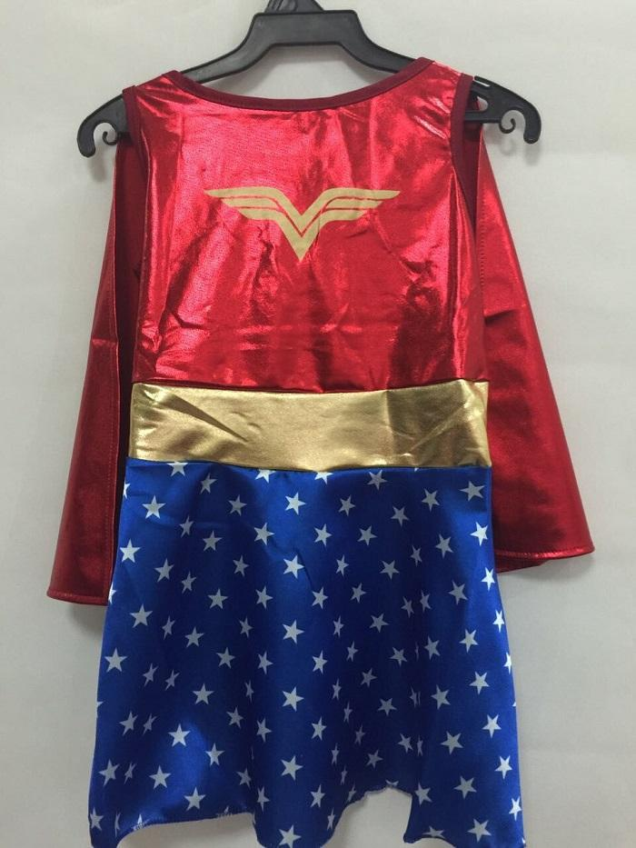 Kids Halloween Costumes For Girls ,Wonder Woman Costume Dress ,Girl Anime Cosplay Clothing ,Disfraces Carnaval Kids Clothing