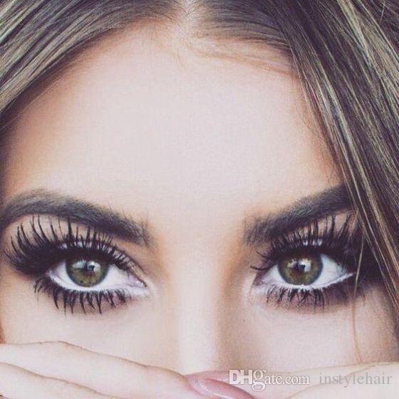 10Pairs 3D Natural Bushy Cross False Eyelashes Silk Handmade Eye Lashes Charming Eyelash Extensions Factory wholesale