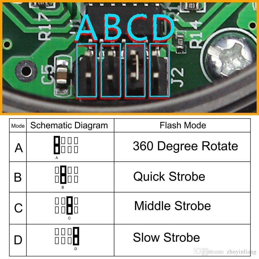 Wholesale Other Lighting System At 2614 Get Amber 30 Led Strobe Circuit Diagram Of High Brightness 1pc Flashing Warning Light Emergency Flash Free Shipping