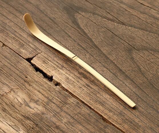 Ретро натуральные бамбуковые матча Scoop чайный порошок матча ложка чайной церемонии инструменты матча