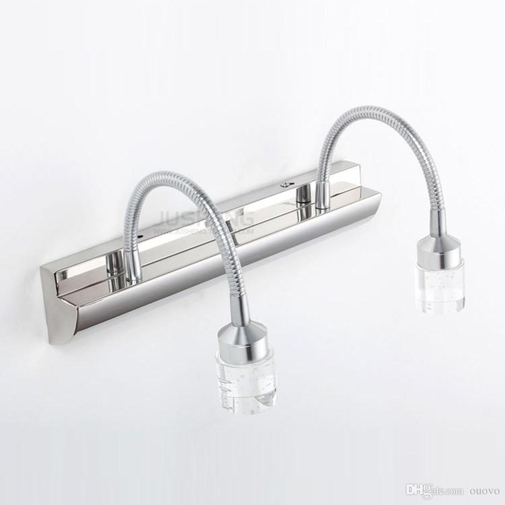 Applique Specchio Bagno Moderno acquista applique da parete in cristallo a specchio da bagno moderno in  cristallo a specchio con frontale in acciaio inox a 45,03 € dal ouovo |