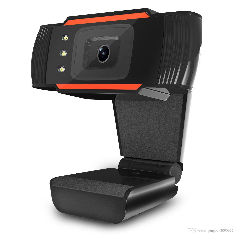 A870C USB 2.0 Caméra PC 1280 * 720 Enregistrement vidéo de la caméra Web HD Webcam avec micro pour ordinateur portable PC