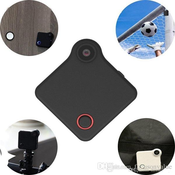 C1 Mini DV WIFI IP Camera with Magnet Clip HD 720P Home Security Cam wearable camera Sports DV Action Camera for outdoor activities