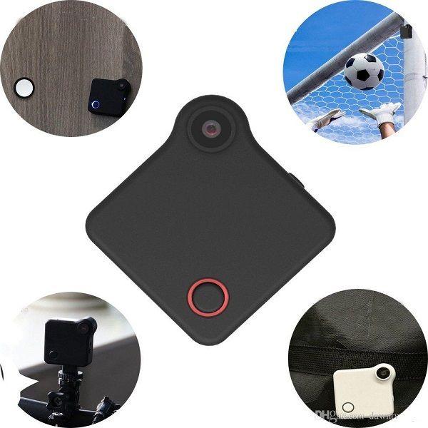 Camera C1 Mini DV WIFI IP con magnete clip HD 720P Home Security Cam telecamera indossabile sport della macchina fotografica DV di azione per le attività all'aperto