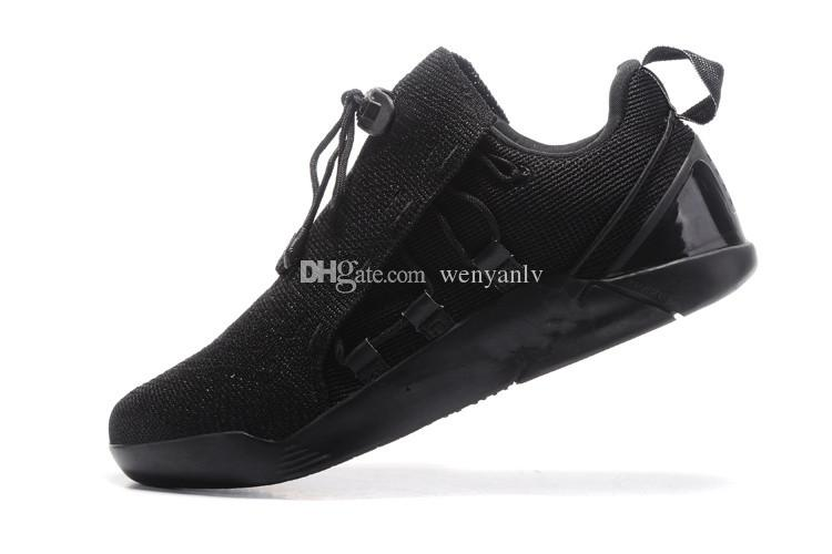 newest bdaf1 3319a 2019 All Black Mens KOBE A.D. NXT 12 Basketball Shoes Men KB 2017 New  Arrival AD WOLF GREY Zoom Sport Shoes From Wenyanlv, $55.84   DHgate.Com