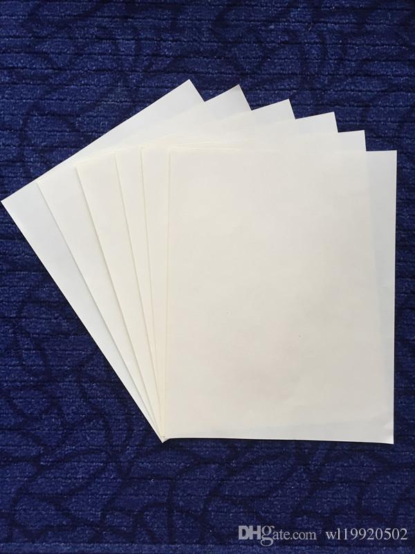 8.5in * 11in A4サイズの紙75コットン25リネン澱粉フリーパスペンテスト防水紙